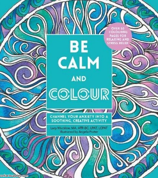 Book Adult Colouring Calm