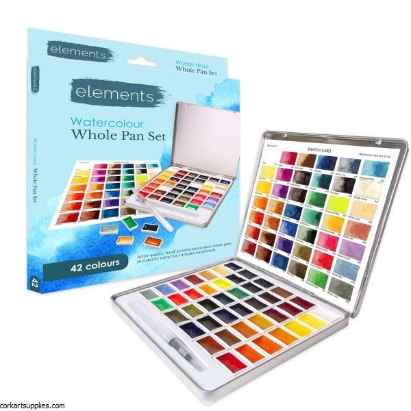 Elements Watercolour 42 Set