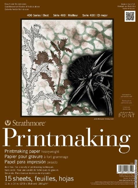"Printmaking Pad S400 11x14"" Strathmore"