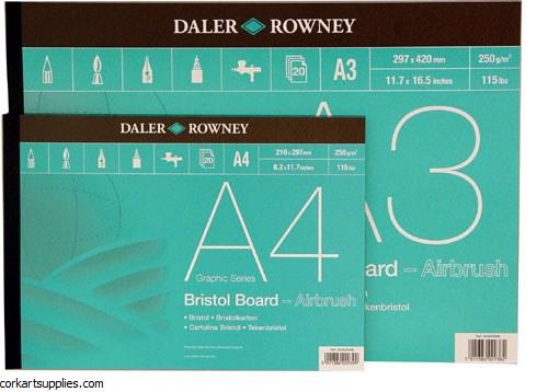 Bristol Pad Daler Rowney  A3 250gm