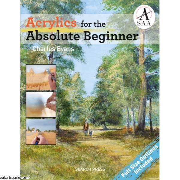 Book Acrylic Absolute Beginner