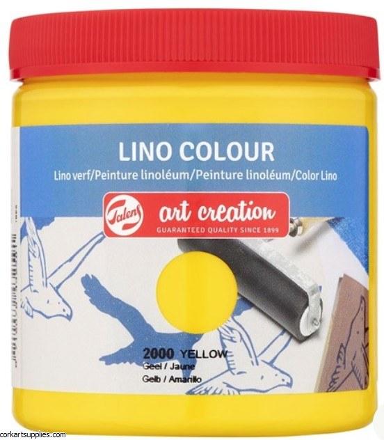 Block Printing Ink 250ml Royal Talens Yellow