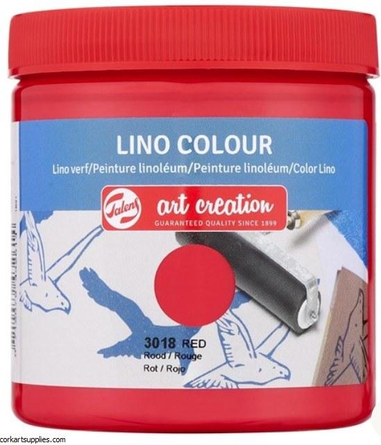 Block Printing Ink 250ml Royal Talens Red