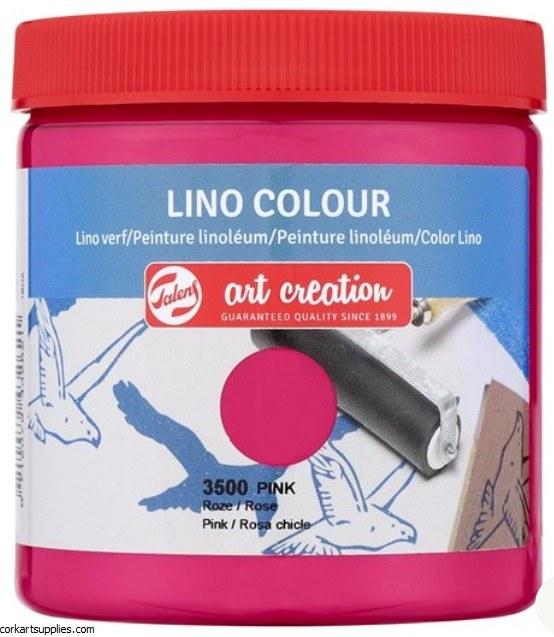 Block Printing Ink 250ml Royal Talens Pink