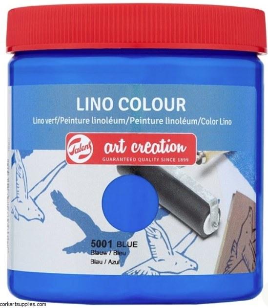 Block Printing Ink 250ml Royal Talens Blue