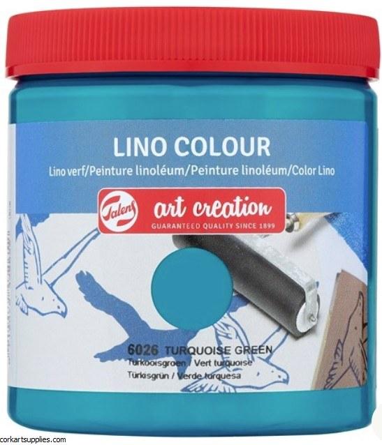 Block Printing Ink 250ml Royal Talens Turquoise