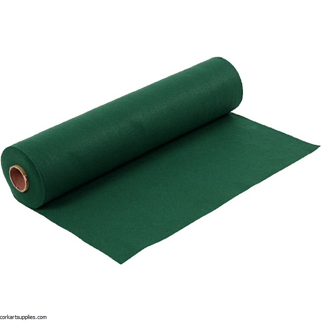 Felt 45cm 1.5mm x 5m Dark Green