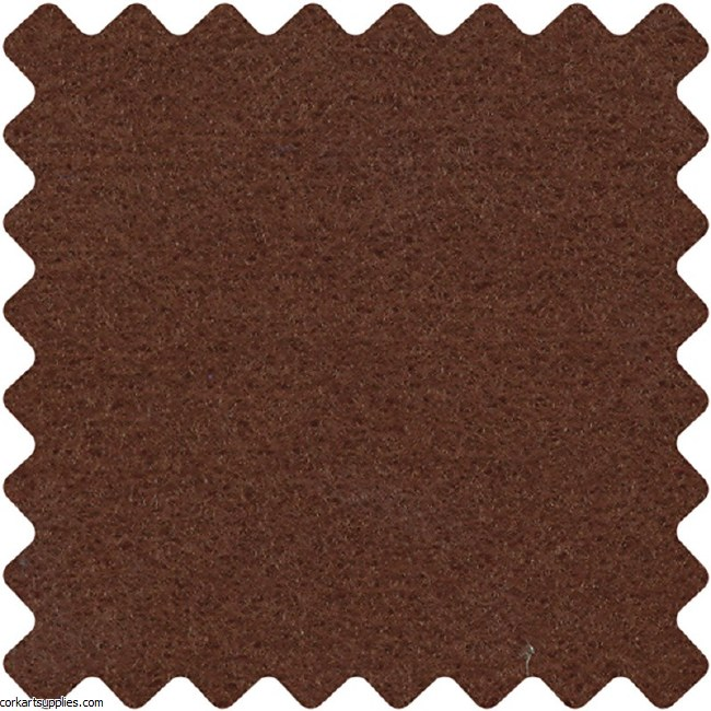 Felt A4 1.5mm Brown Single