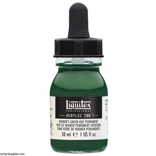 Liquitex Ink 30ml Hookers Green