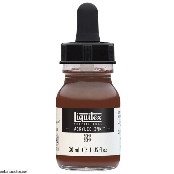 Liquitex Ink 30ml Sepia