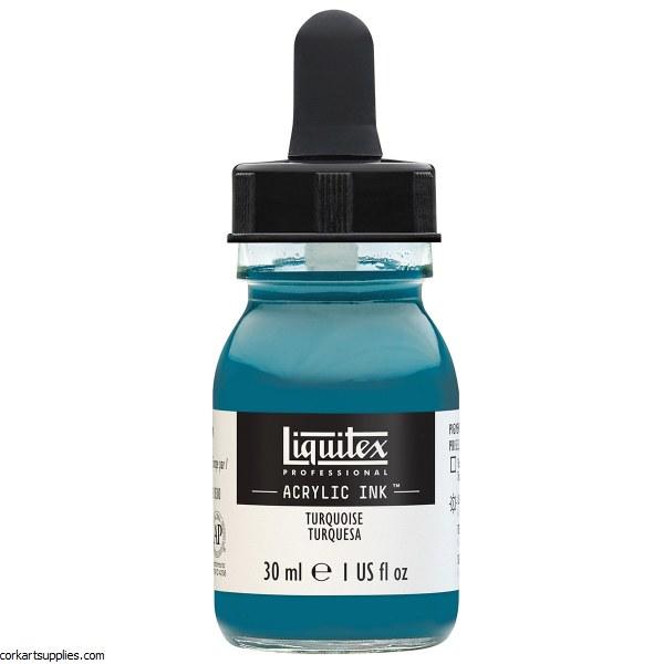 Liquitex Ink 30ml Turquoise