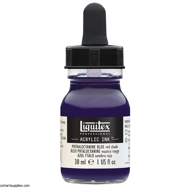 Liquitex Ink 30ml Phthalo BLUE Red Sh