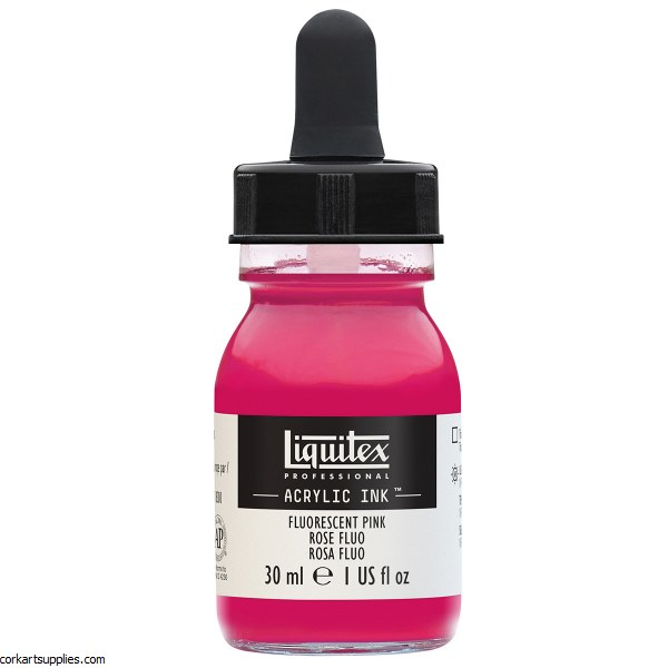 Liquitex Ink 30ml Fluorescent Pink
