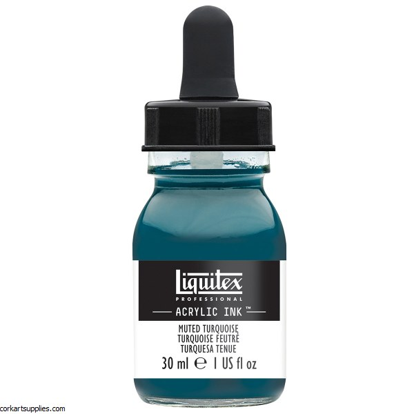 Liquitex Ink 30ml Muted Turquoise