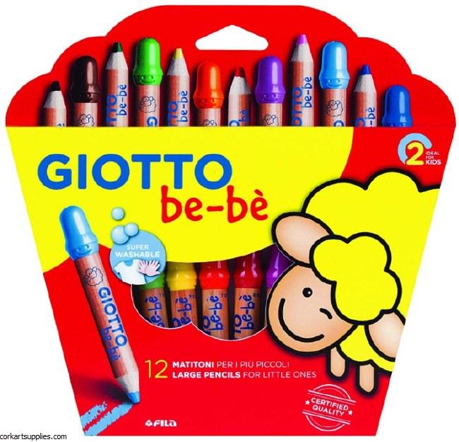 Giotto BEBE Chunky Pencil 12pk
