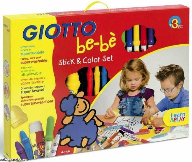 Giotto BEBE Stick&Color Kit 3+
