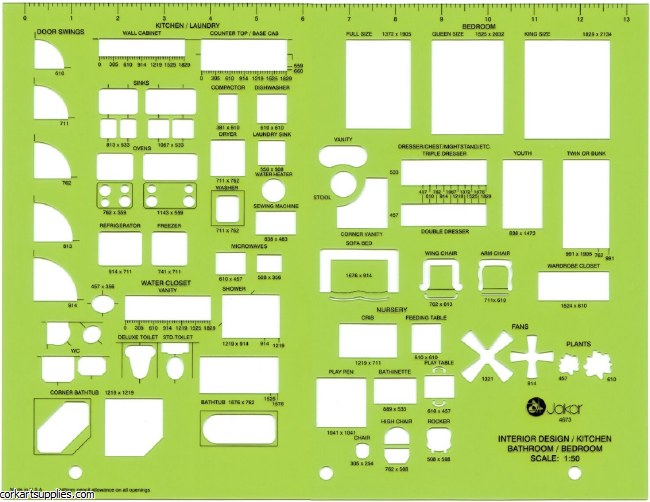 Template Jakar 4673 Scale 1.50 Interior Design Kitchen,Bathroom & Bedroom