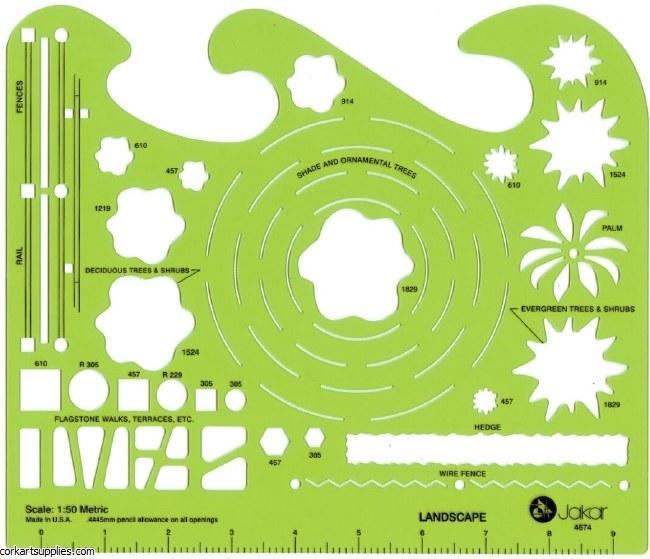 Template Jakar 4674 Landscape Garden