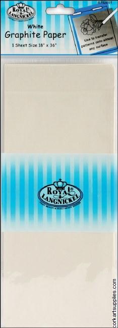 Graphite Paper White 18x36
