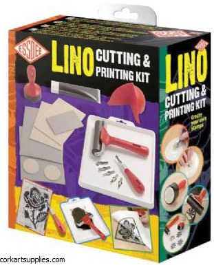 Lino Cutting&Printing Set 22pk