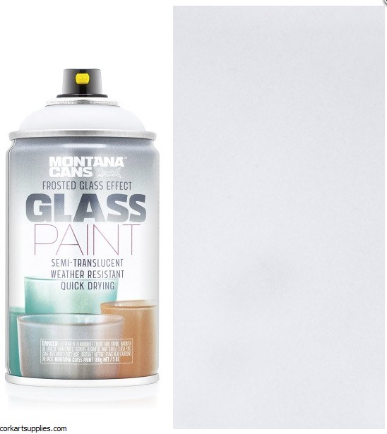 Montana Glass Paint 250ml Whit