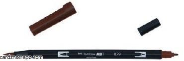 Tombow Brush Pen Dual Brown