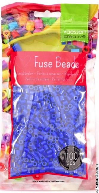 Fuse Beads 5mm 1100pk Blue