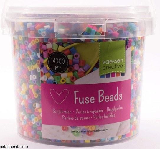 Fuse Beads 5mm Bulk 14,000pk