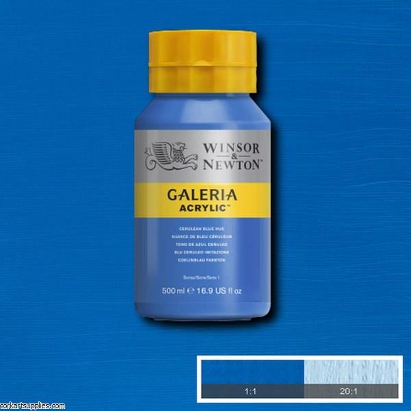 Galeria 500ml Cerulean Blue Hue