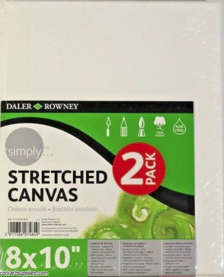 Canvas Slim Simply 8x10