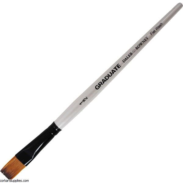Graduate Brush Flat 1/2
