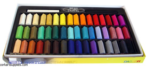 Inscribe Soft Pastels 48 Pack Half