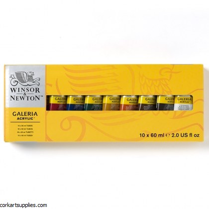 Galeria Set 60ml Tube 10pk