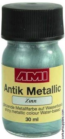 Metallic Paint 30ml - Pewter