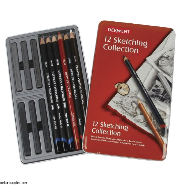 Derwent Sketch Collection 12pk