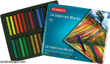 Derwent Inktense Blocks 24pk
