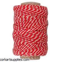 String Striped Red 1.1mm x50m