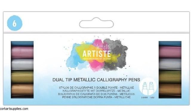 Calligraphy Pens 2 Tip Metal