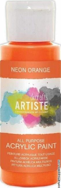 Acrylic 59ml Neon Orange