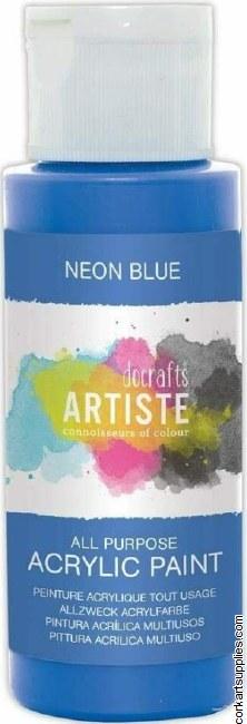 Acrylic 59ml Neon Blue