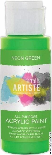 Acrylic 59ml Neon Green