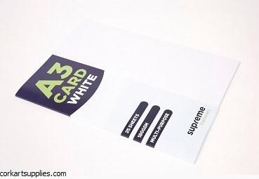 A3 Card 180gm White 25pk