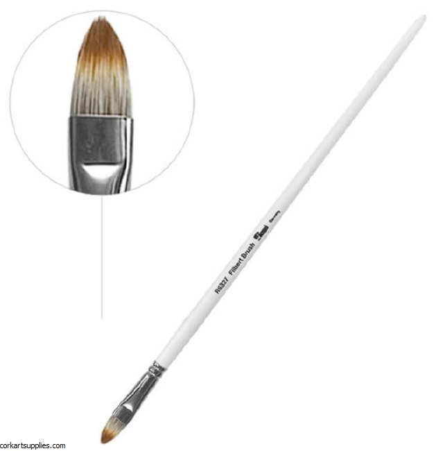 Bob Ross Brush Floral Filbert