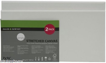 Canvas Slim Simply 7x14