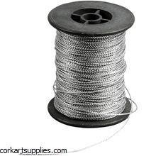 Cord Thick 0,5 mm Silv x 100m^