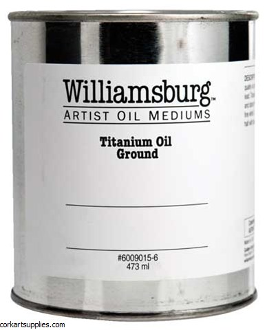 Williamsburg Titanium Oil Ground 473ml