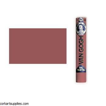 Van Gogh Oil Pastel Indian Red Tint 5