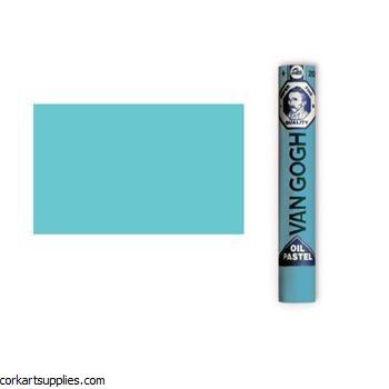 Van Gogh Oil Pastel Turquoise Blue Tint 9