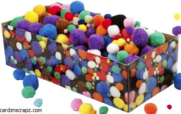 Pompoms 720pk Bulk D.5-40mm Asst Colours