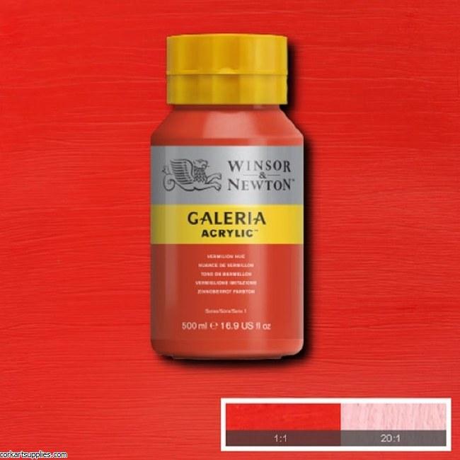 Galeria 500ml Vermilion